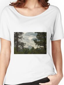 The Framing Of Mount Hood ©  Women's Relaxed Fit T-Shirt