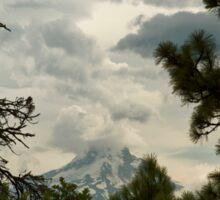 The Framing Of Mount Hood ©  Sticker