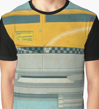 Korben Dallas' Flying Taxi, The Fifth Element 2 of 3 Graphic T-Shirt
