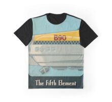 Korben Dallas' Flying Taxi, The Fifth Element 1 of 3 Graphic T-Shirt