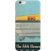 Korben Dallas' Flying Taxi, The Fifth Element 1 of 3 iPhone Case/Skin