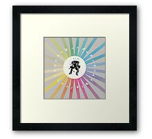 Super Attack Framed Print