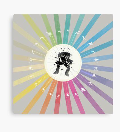 Super Attack Canvas Print