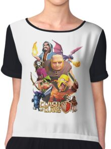 Clash Of Clans Troops Chiffon Top