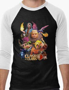 Clash Of Clans Troops Men's Baseball ¾ T-Shirt