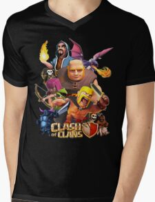 Clash Of Clans Troops Mens V-Neck T-Shirt