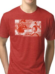 WESO - RED Tri-blend T-Shirt