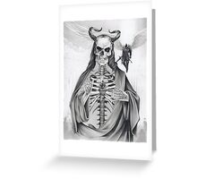 Jesus and the Angel of Death Greeting Card