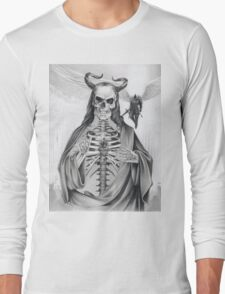 Jesus and the Angel of Death Long Sleeve T-Shirt