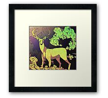 Deer-Kind Framed Print