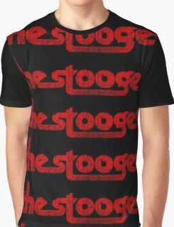 The Stooges (red - distressed) Graphic T-Shirt