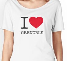 I ♥ GRENOBLE Women's Relaxed Fit T-Shirt
