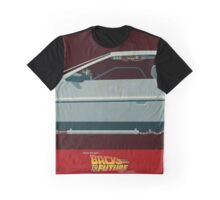 DeLorean Time Machine, Back to the Future Version 3 II/III Graphic T-Shirt