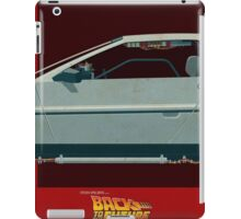 DeLorean Time Machine, Back to the Future Version 3 II/III iPad Case/Skin