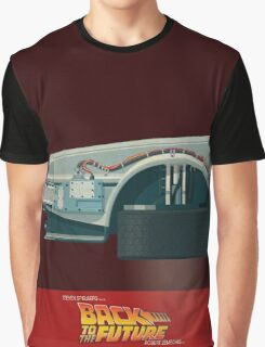 DeLorean Time Machine, Back to the Future Version 3 I/III Graphic T-Shirt