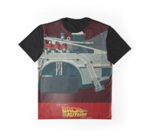 DeLorean Time Machine, Back to the Future Version 3 III/III Graphic T-Shirt