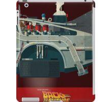 DeLorean Time Machine, Back to the Future Version 3 III/III iPad Case/Skin