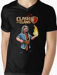 Wizard Mens V-Neck T-Shirt