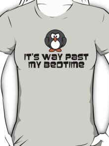 Bad Baby Bedtime Penguin T-Shirt