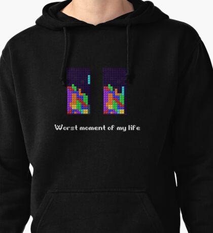 Tetris ruins my life. Pullover Hoodie