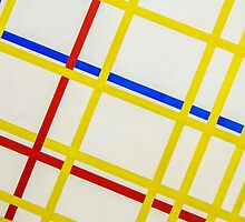 A Slant on Mondrian, Pompidou Centre, Paris by David Mapletoft