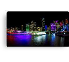 Circular Quay - Vivid Sydney Canvas Print