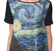 Van Gogh - Starry Night Chiffon Top
