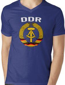 EAST GERMANY - DDR Mens V-Neck T-Shirt