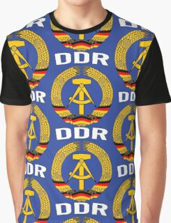 EAST GERMANY - DDR Graphic T-Shirt