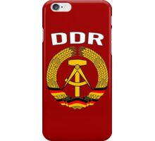 EAST GERMANY - DDR iPhone Case/Skin