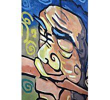 wall graffiti Photographic Print