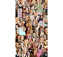 Gillian Anderson collage Photographic Print
