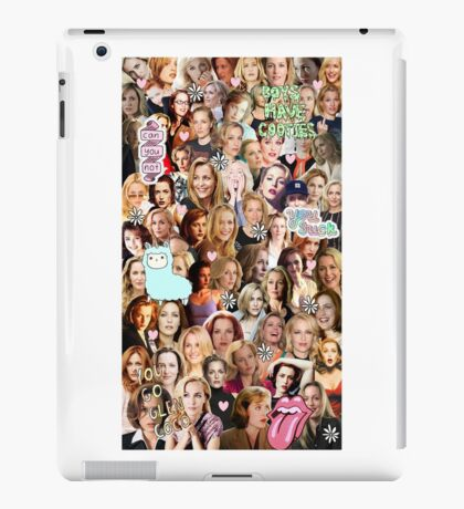 Gillian Anderson collage iPad Case/Skin