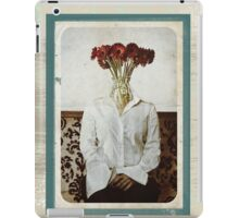 Still Life with The Faceless Woman iPad Case/Skin