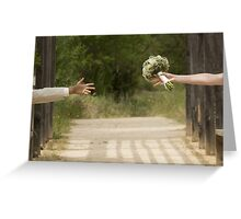 Hands married Greeting Card