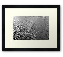 Water Texture IV Framed Print