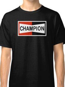 CHAMPION SPARK PLUG RACING CAR Classic T-Shirt