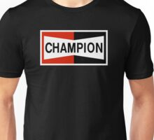 CHAMPION SPARK PLUG RACING CAR Unisex T-Shirt