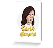 Lana Banana Greeting Card