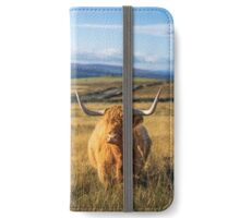Beautiful Highland Coo  iPhone Wallet/Case/Skin