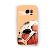 Traveller - Giant Land Samsung Galaxy Case/Skin