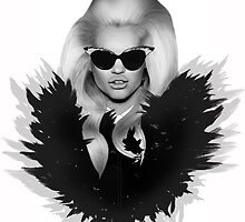 Fashion Illustration of Daphne Groeneveld by BeckiBoos