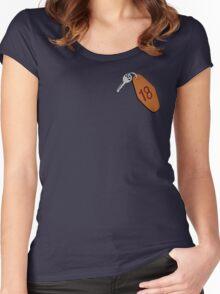 Motel Keys Women's Fitted Scoop T-Shirt