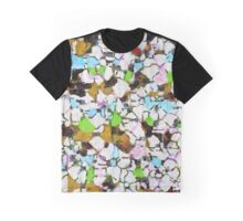 Brush strokes on a white background Graphic T-Shirt