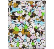 Brush strokes on a white background iPad Case/Skin