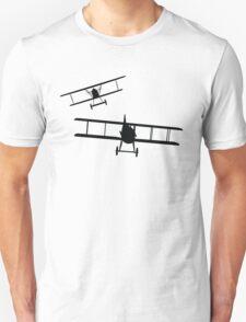 Fokker DVII versus Spad XIII  Unisex T-Shirt