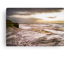 Golden Sea Canvas Print