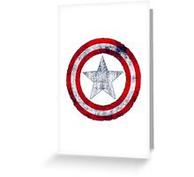 Special T-shirt,captain america Greeting Card