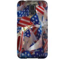 Patriotic Pinwheels Samsung Galaxy Case/Skin