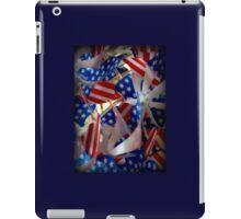 Patriotic Pinwheels iPad Case/Skin